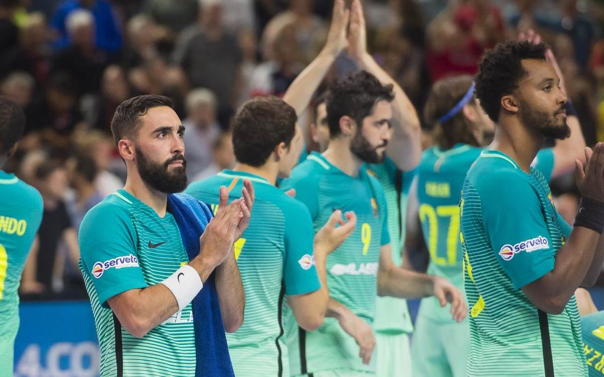 Telekom Veszprém v FC Barcelona Lassa: Time in Cologne ends in defeat (34-30)