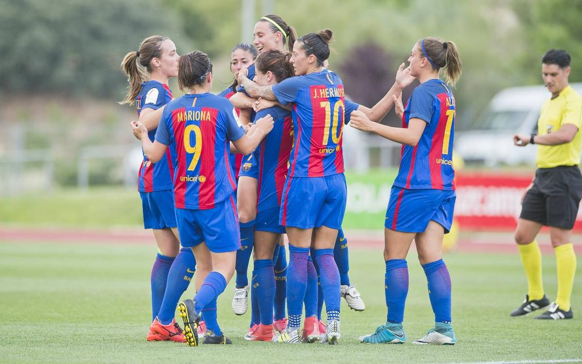 FC Barcelona Women v Valencia: Through to the final! (2-1)