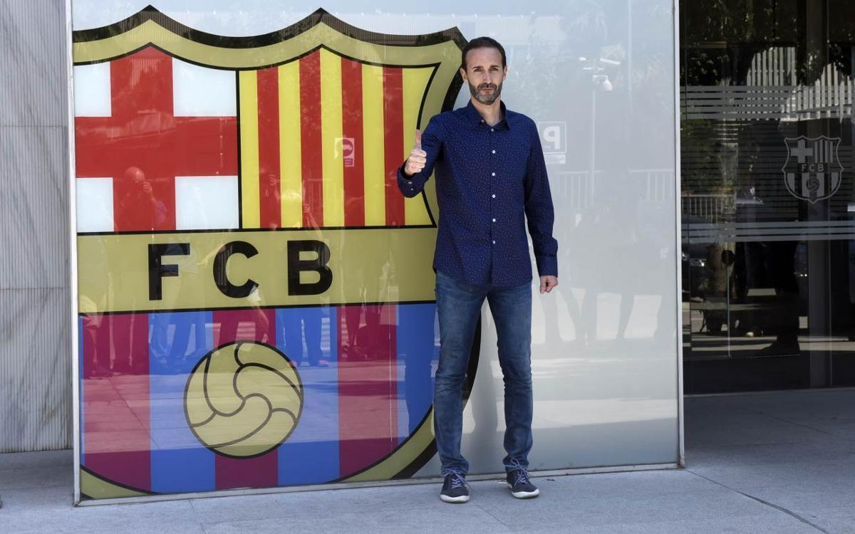 Sito Alonso quotes from his presentation as the new Barça Lassa coach