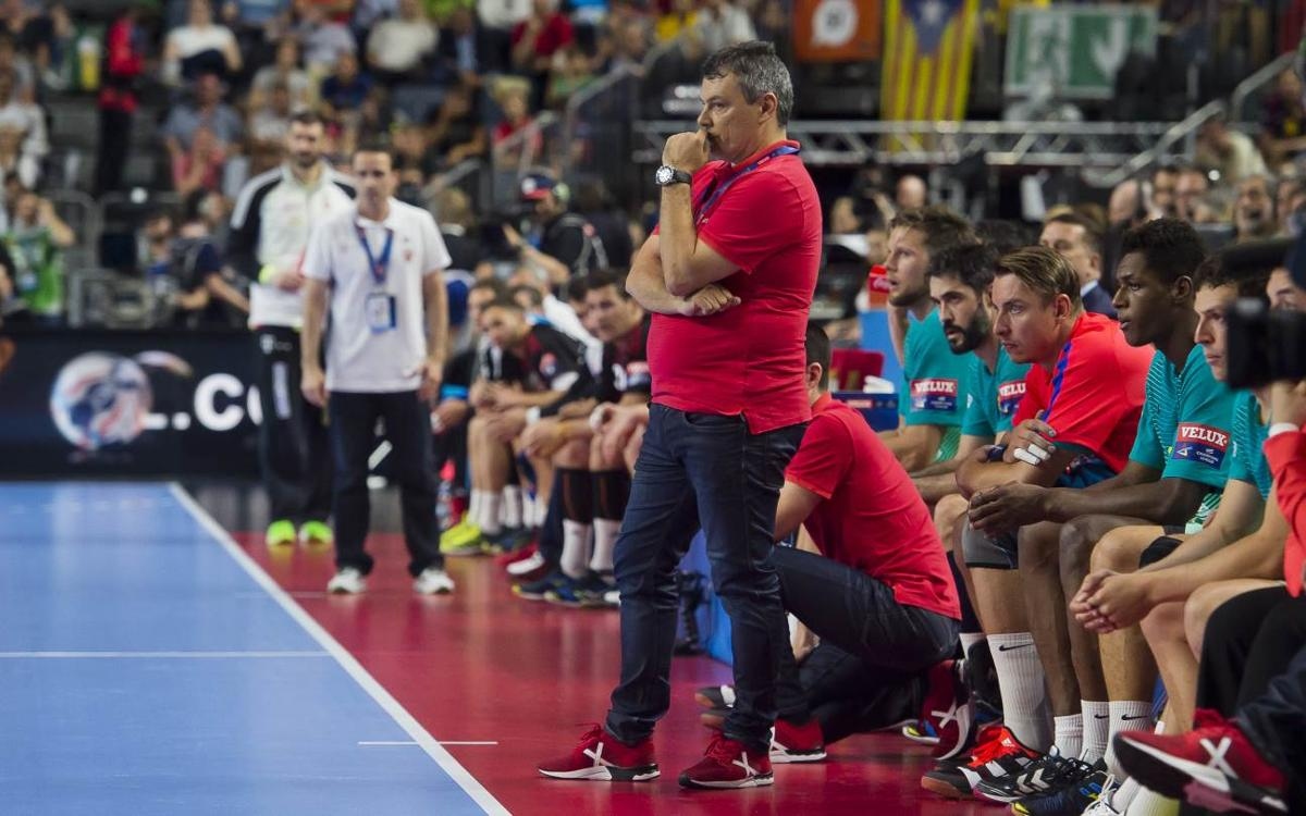 """Xavi Pascual: """"Encara som un equip en construcció i això ens anirà bé per saber on som i seguir millorant"""""""