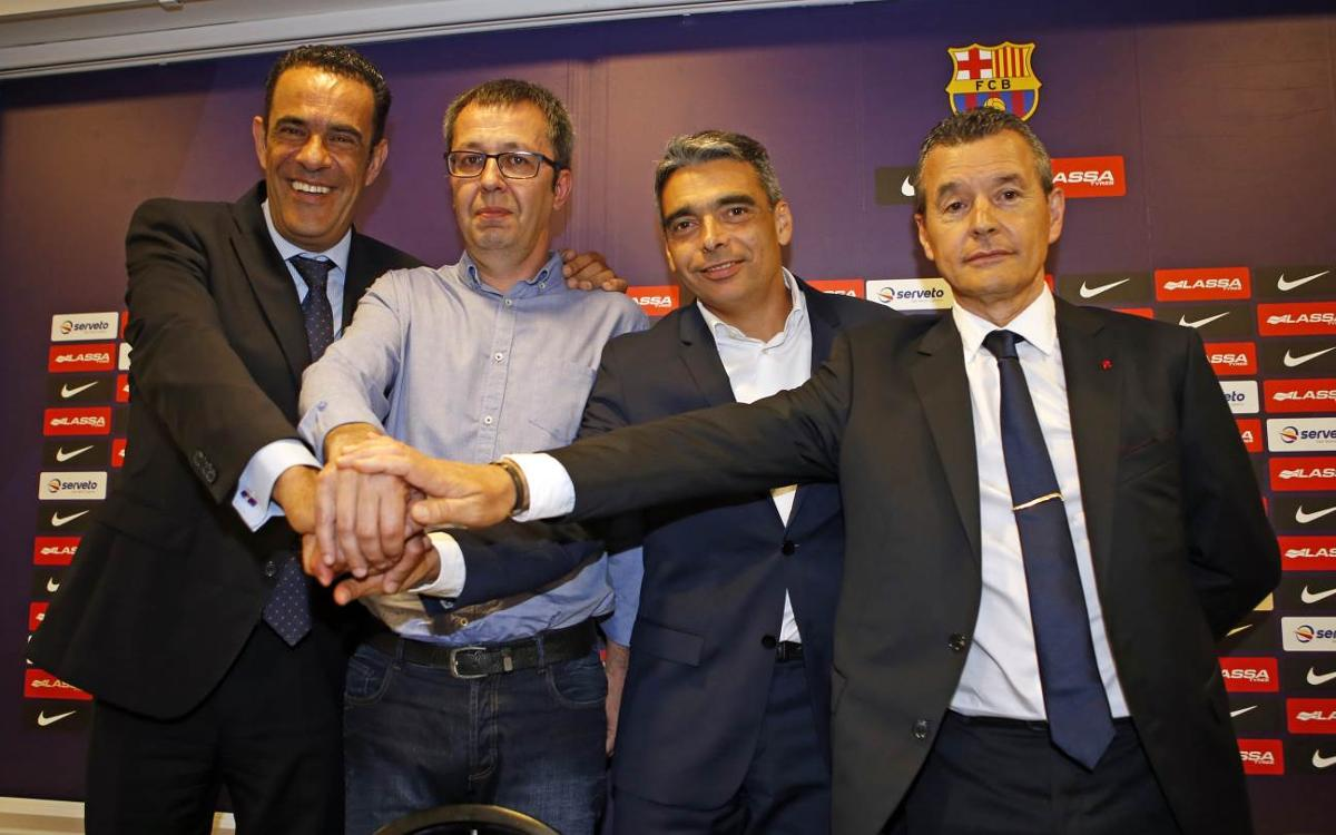 Edu Castro, nou entrenador del FC Barcelona Lassa