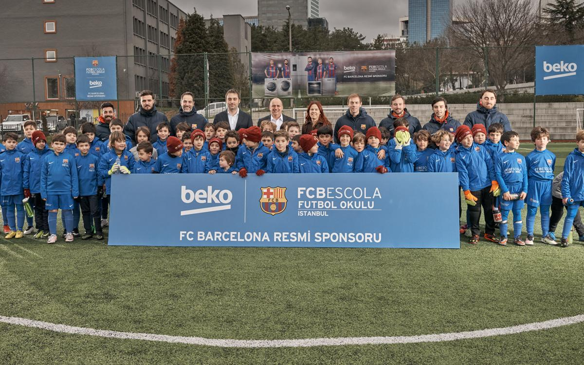 FCBEscola Istanbul signs sponsorship agreement with Beko