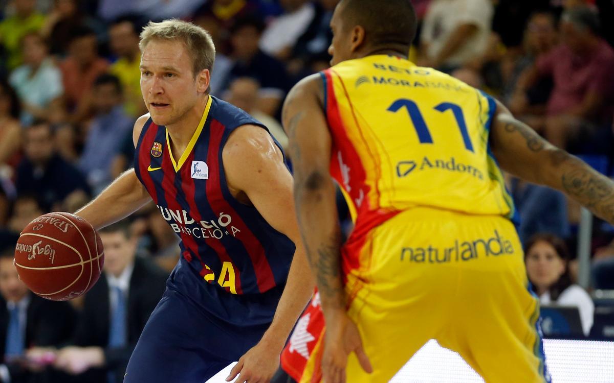 MoraBanc Andorra, el primero de tres partidos seguidos en casa