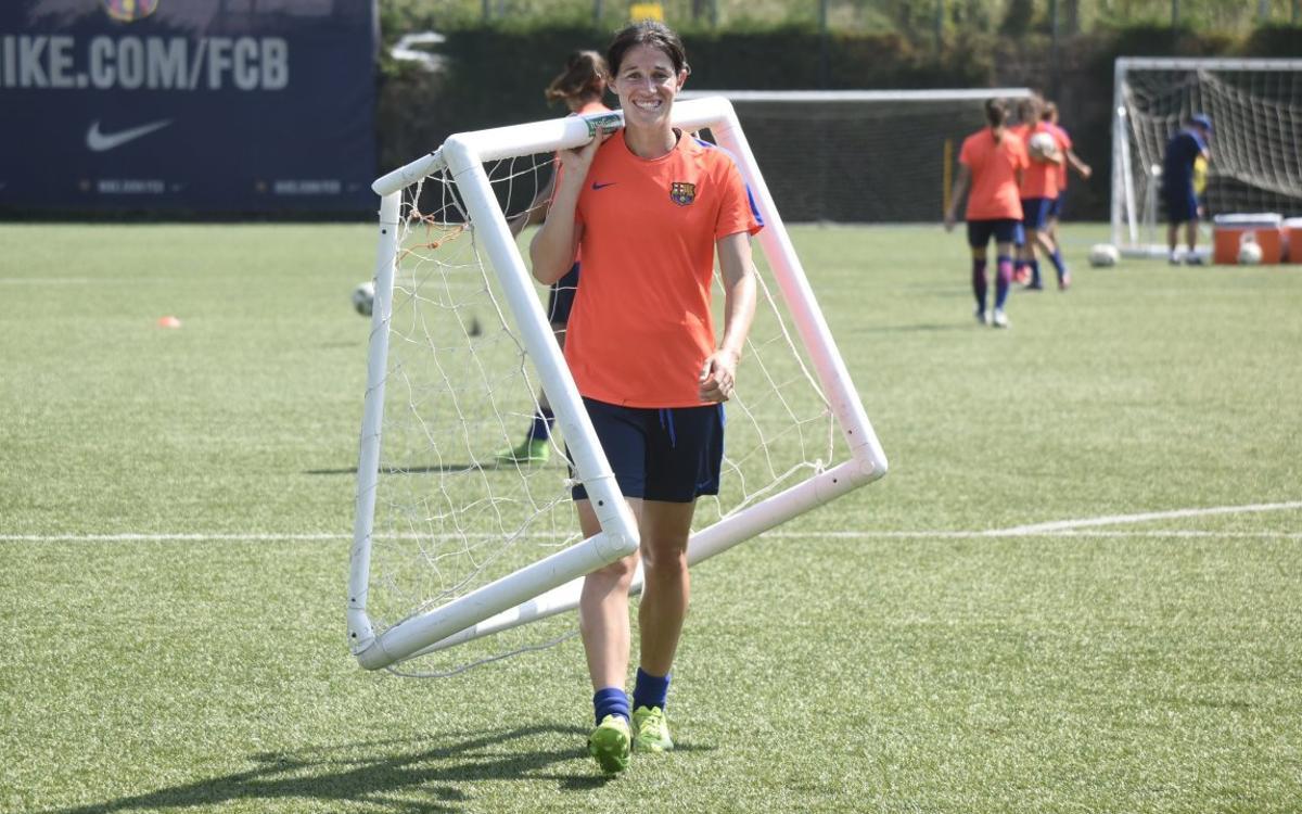 Miriam, baixa per a la fase final de la Copa