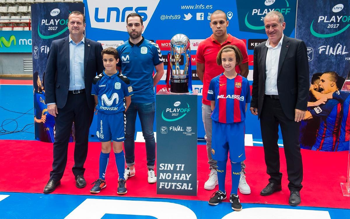 Andreu Plaza i Ferrao, a la presentació de la final