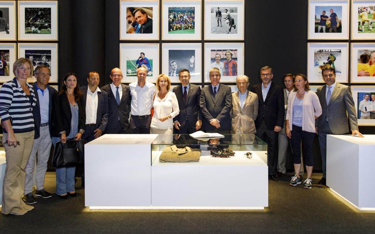 El museo del FC Barcelona estrena un nuevo espacio dedicado a Johan Cruyff