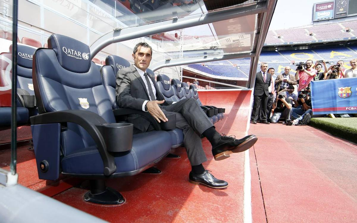 Ernesto Valverde: Barça biggest challenge of my career