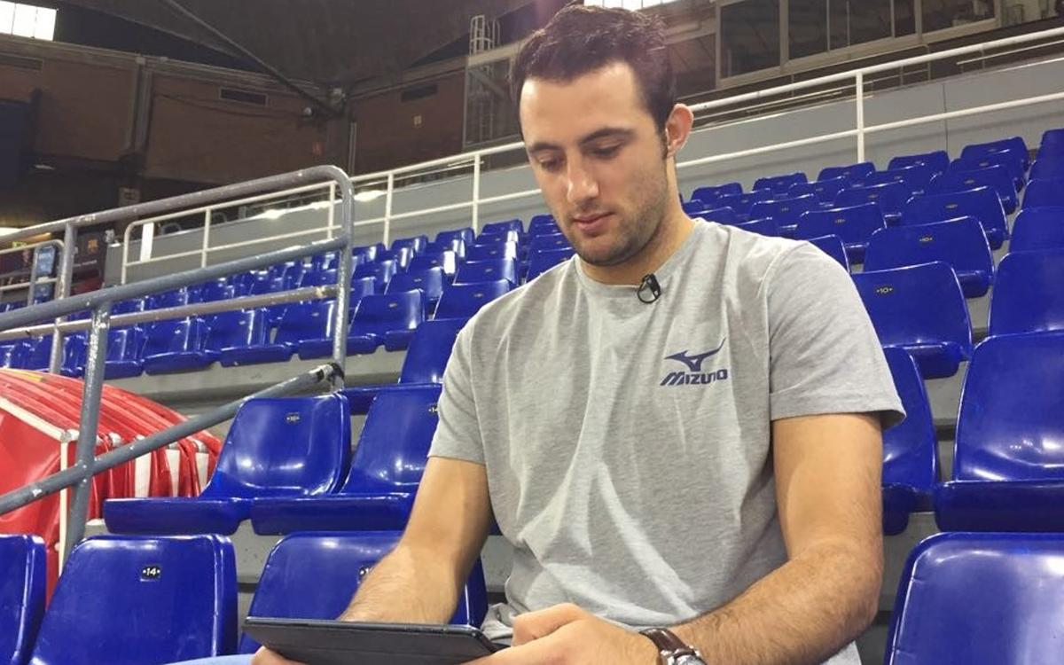 Aitor Ariño posa a prova els seus coneixements de la Final Four