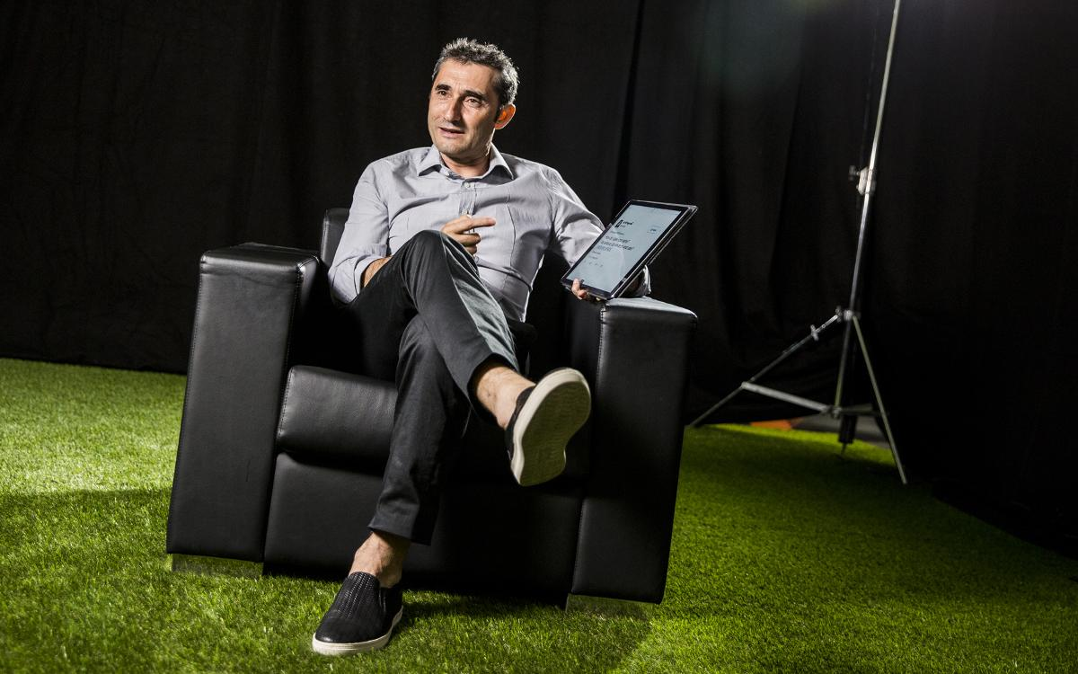Ernesto Valverde answers the fans