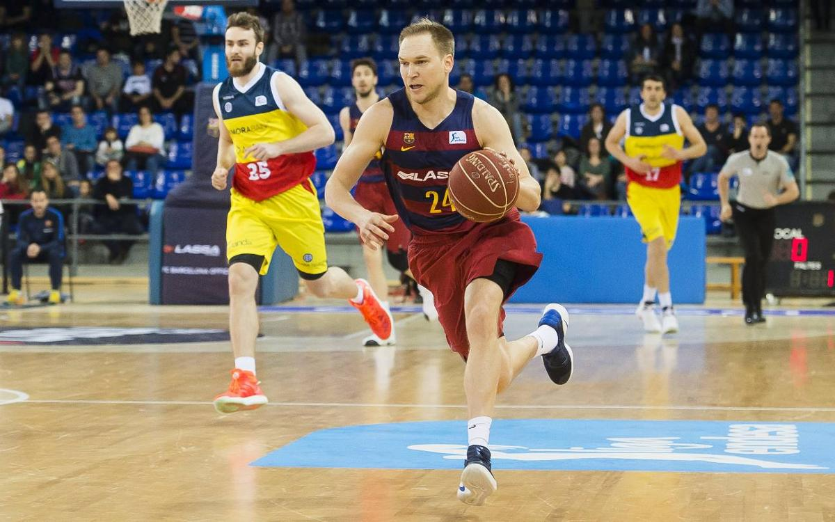 Brad Oleson's time at Barça Lassa comes to an end