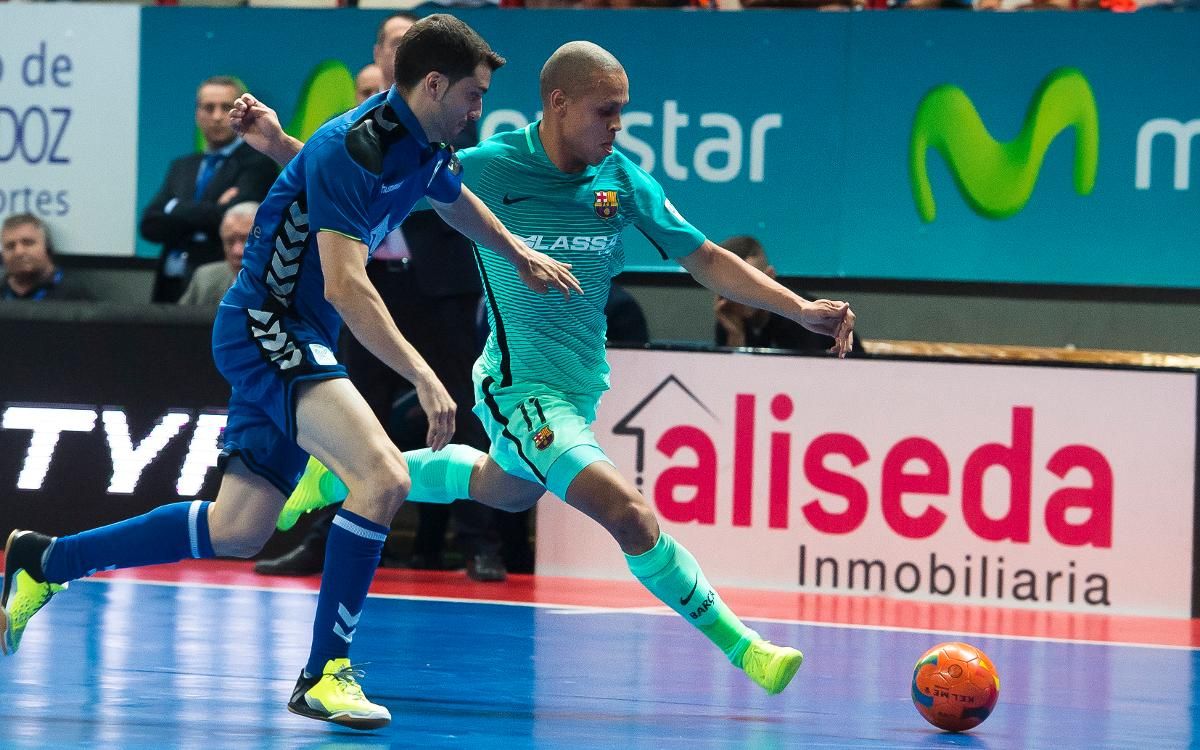 Movistar Inter v FC Barcelona Lassa: Advantage in final after penalty shoot-out victory (2-2, 1-3)