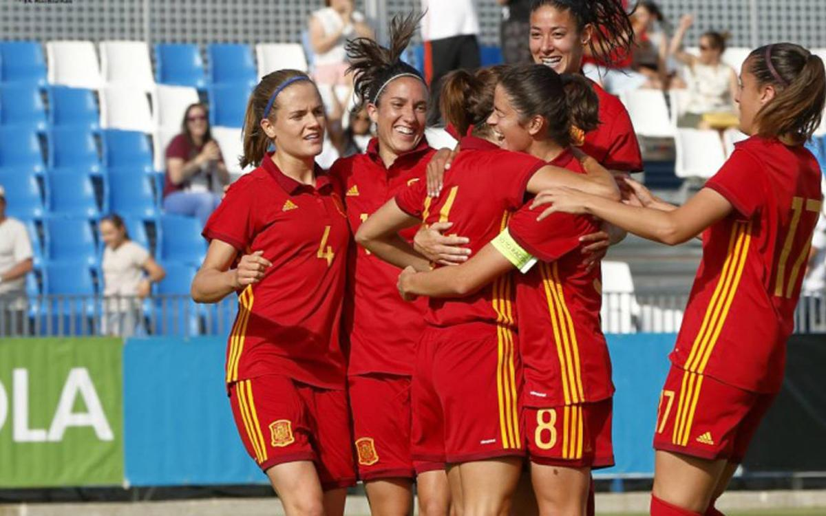 Nine blaugranas in Spain's narrow defeat against Brazil (1-2)
