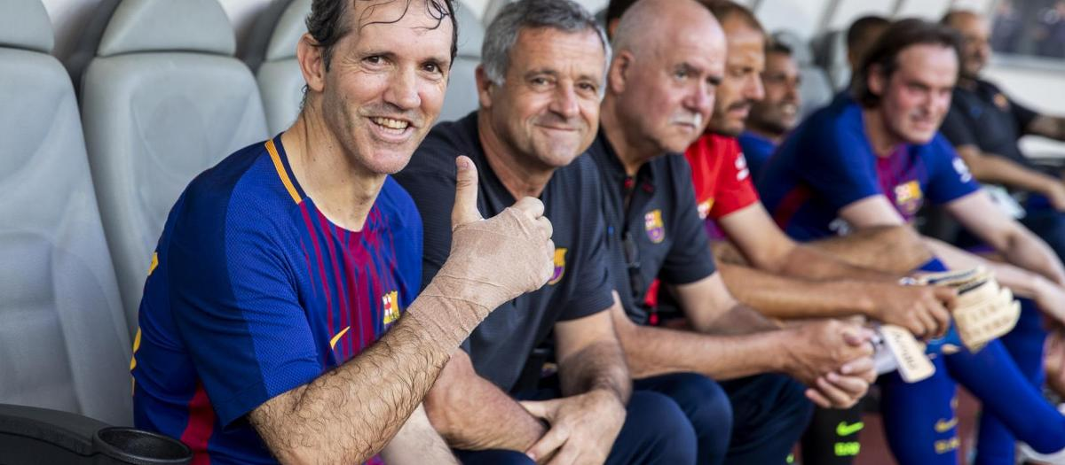 About the Barça Legends team