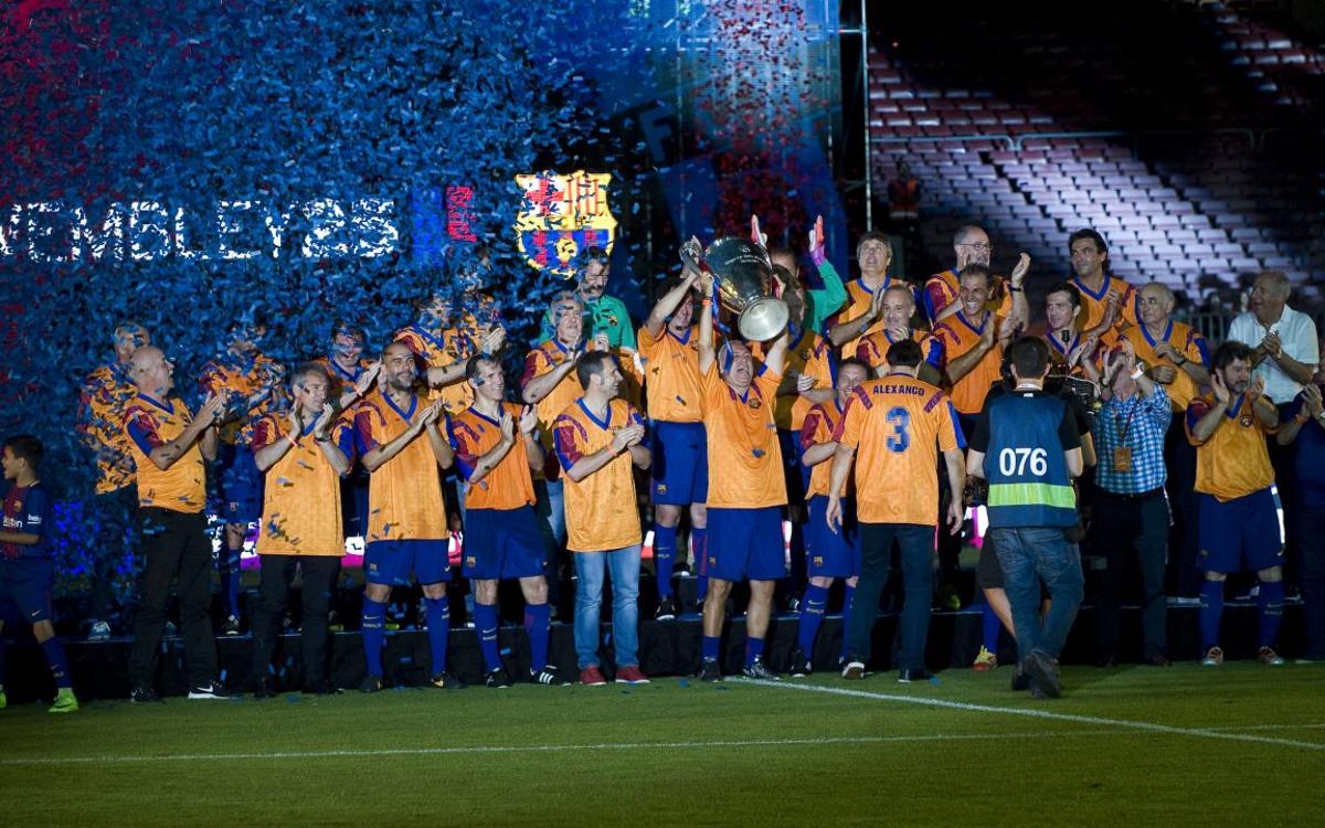 Agraïment per la temporada dedicada als 25 anys de Wembley