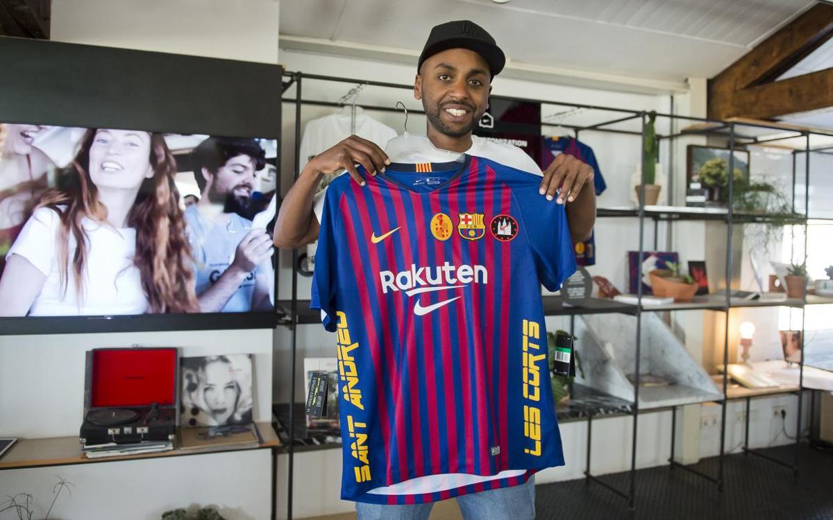 Un taller para customizar tu camiseta del Barça