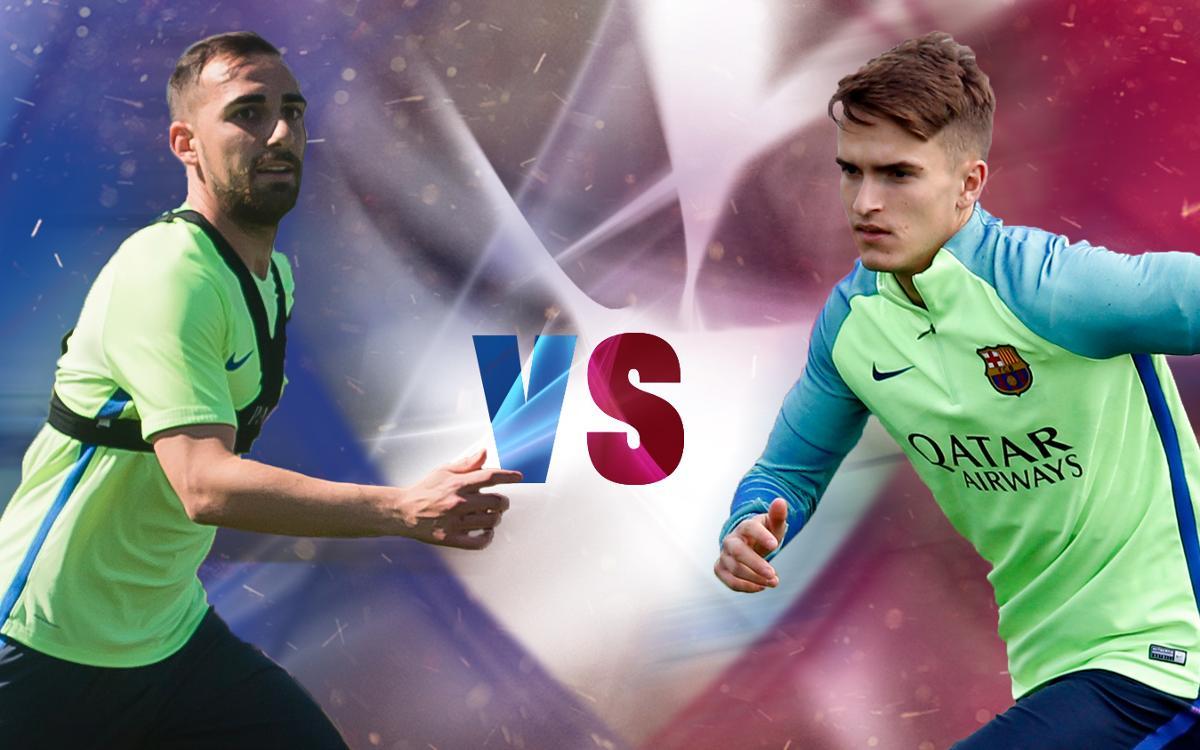 Cara a Cara: Alcácer vs Denis Suárez