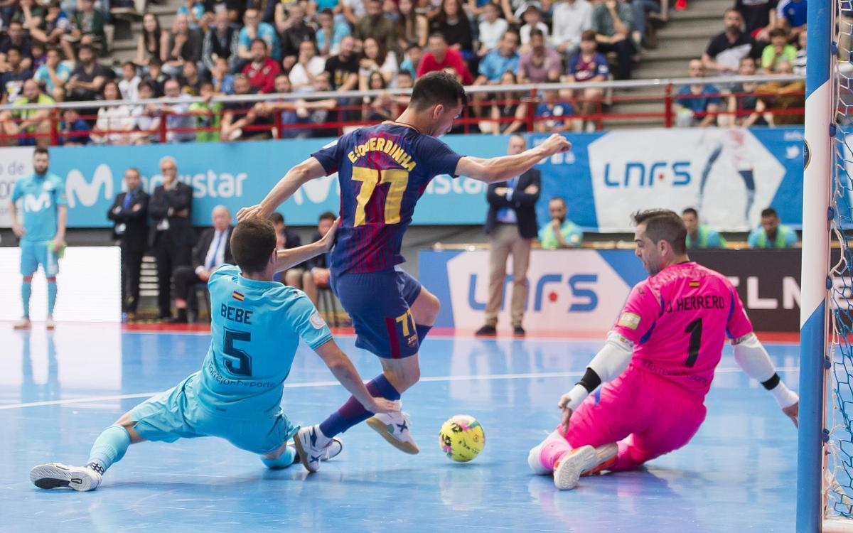 Movistar Inter - FC Barcelona Lassa: La mala suerte decide en Madrid (4-2)