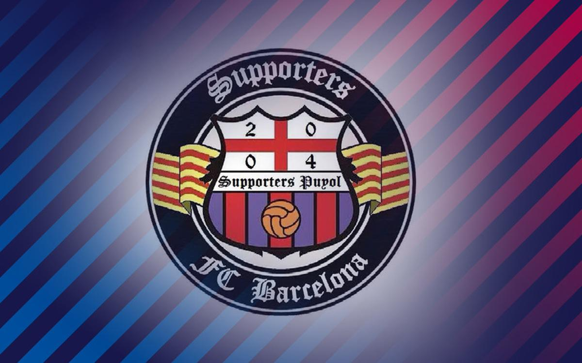 Supporters Puyol