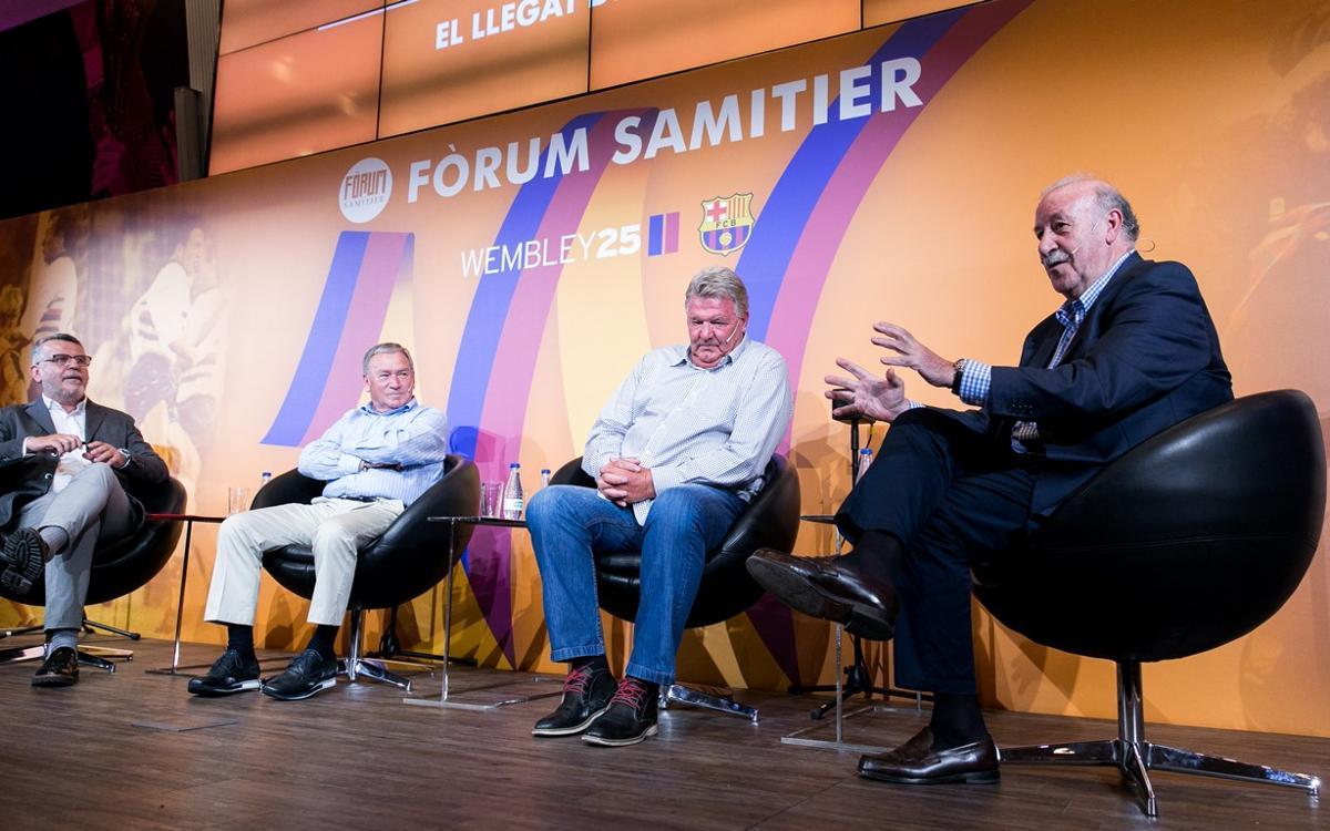 Del Bosque, Clemente y Toshack comentan la personalidad y el legado de Johan