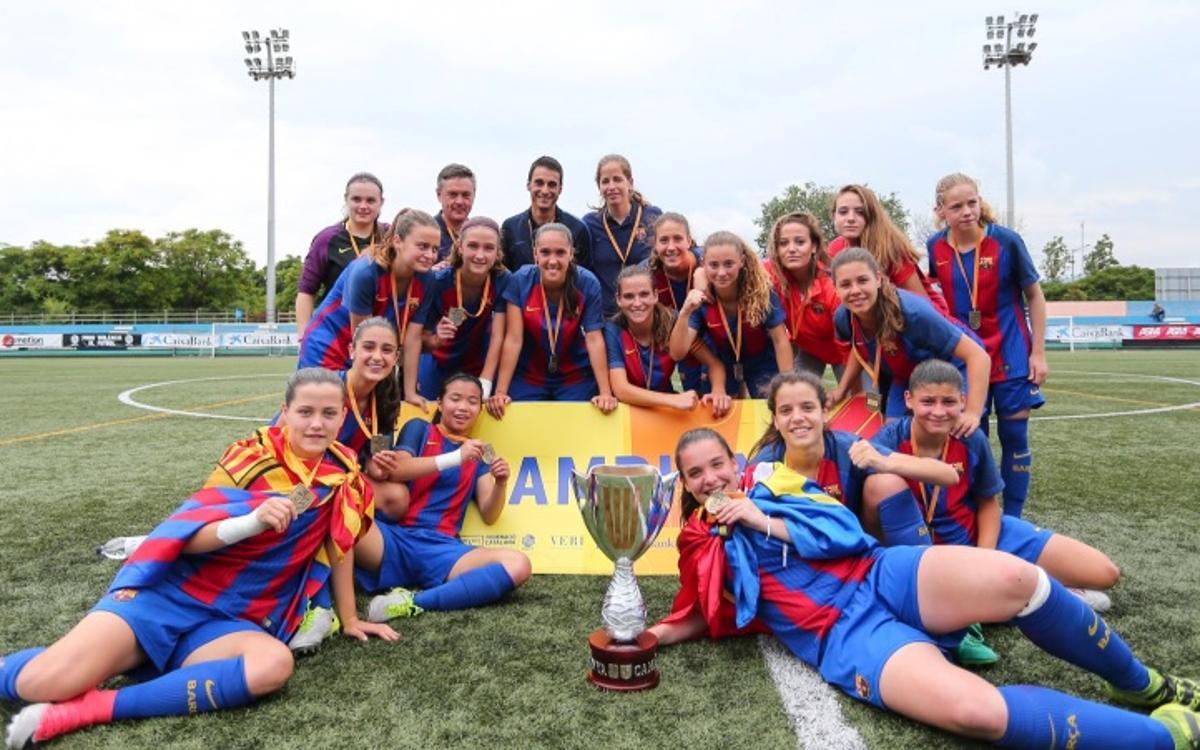 El Juvenil-Cadet, campió de Catalunya