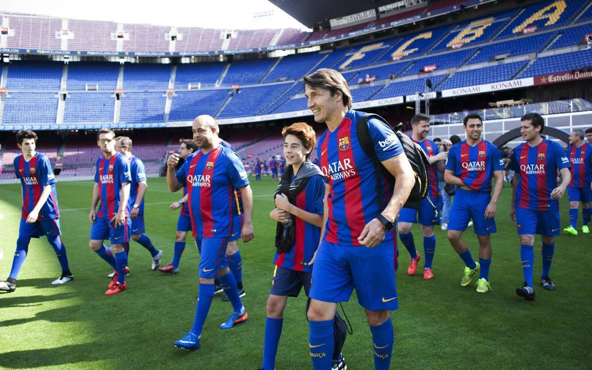 Experiència única per als clients d'Hospitality del FC Barcelona