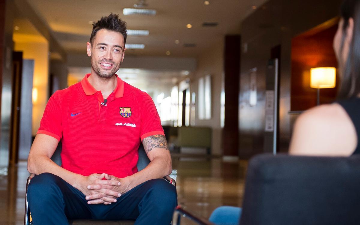 "Paco Sedano: ""L'equip ha après a patir"""