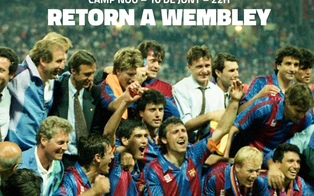 Wembley25 commemoration with events-packed Saturday at Camp Nou