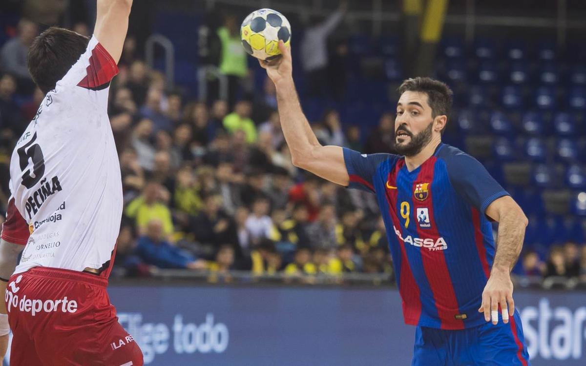 Naturhouse La Rioja - Barça Lassa: ¡La Copa del Rey es azulgrana! (29-34)