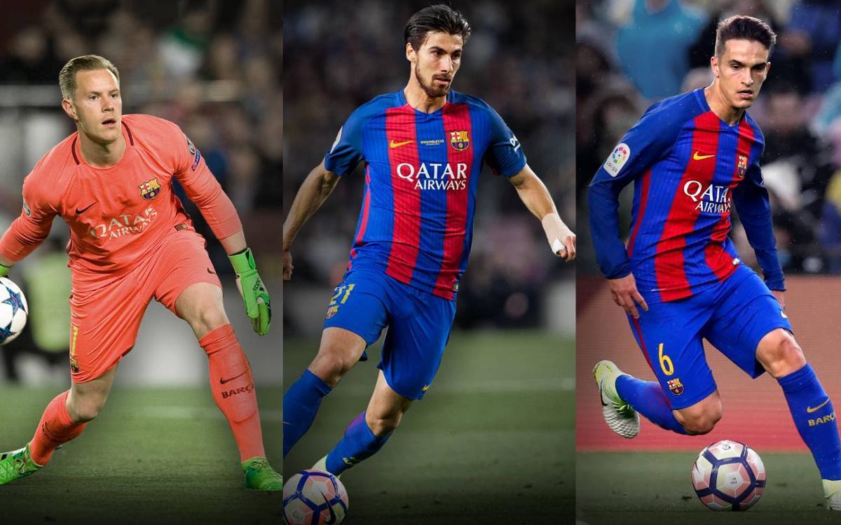 Barça trio through to international semi-finals