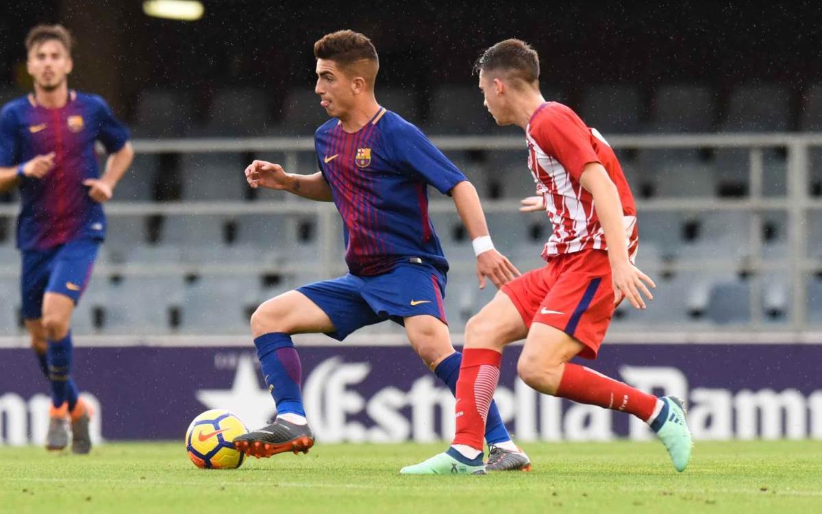 Juvenil A - Atlético de Madrid: La efectividad visitante condena a los azulgranas (1-3)