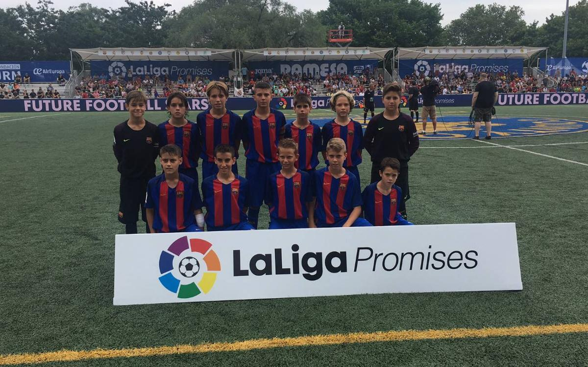 Double win for U12s to start LaLiga Promises