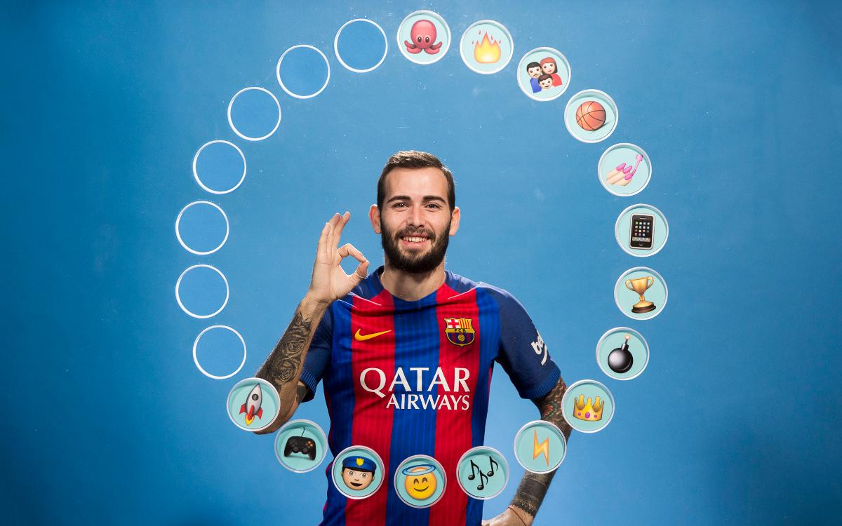 See what Aleix Vidal thinks of his teammates!