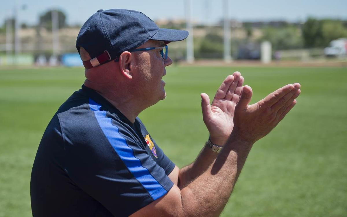 """Xavi Llorens: """"L'equip ha competit molt bé i les jugadores s'hi han deixat l'ànima"""""""