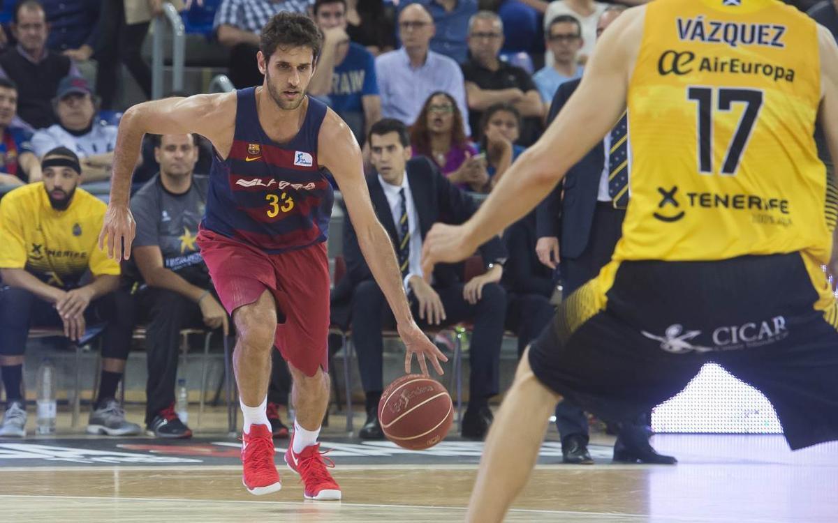 Stratos Perperoglou to leave Barça Lassa