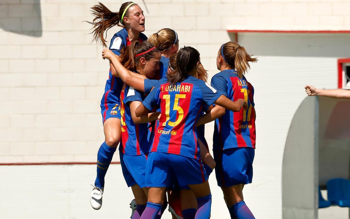FC Barcelona Femenino - Real Sociedad: Pase trabajado a semifinales (1-0)