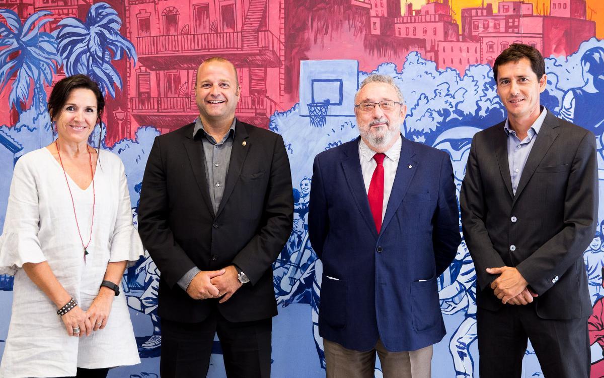 La Ciutat Esportiva rep l'acreditació Amed per promocionar l'alimentació saludable a la Residència Masia i a tot el recinte