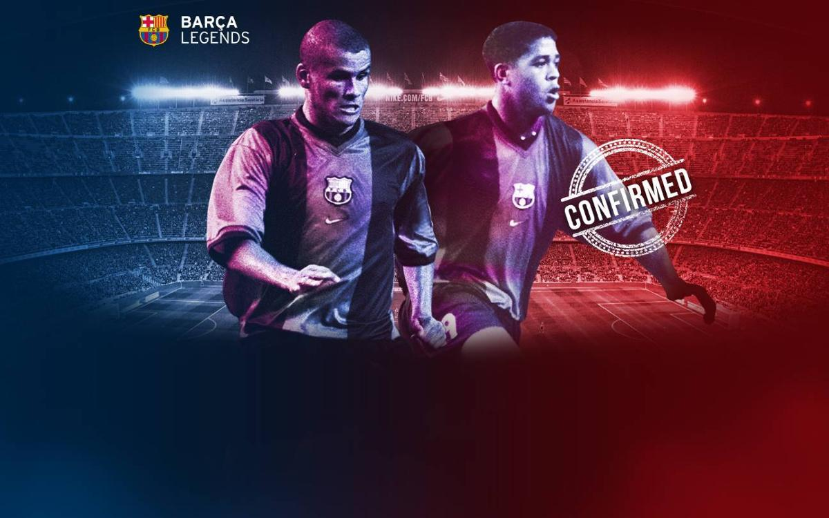 Rivaldo and Kluivert to return to Camp Nou to play for Barça Legends