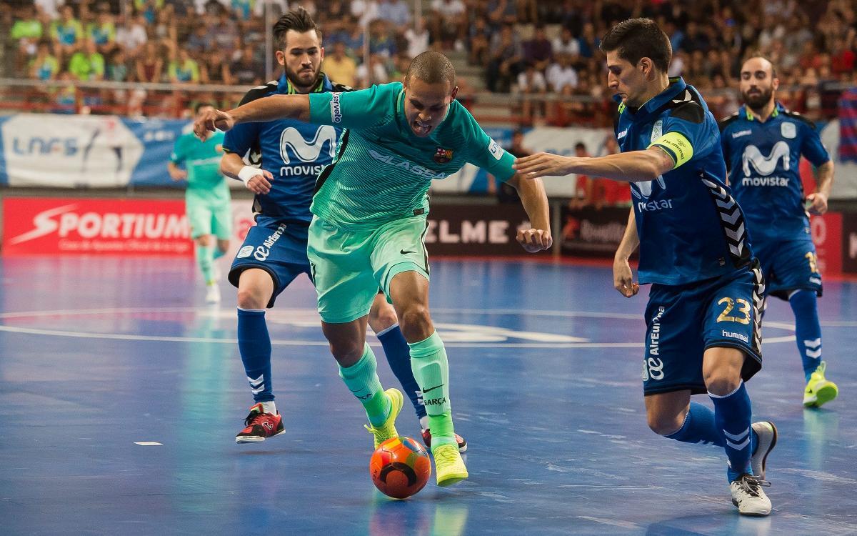 Movistar Inter - FC Barcelona Lassa: La Liga se escapa en el último asalto (2-1)
