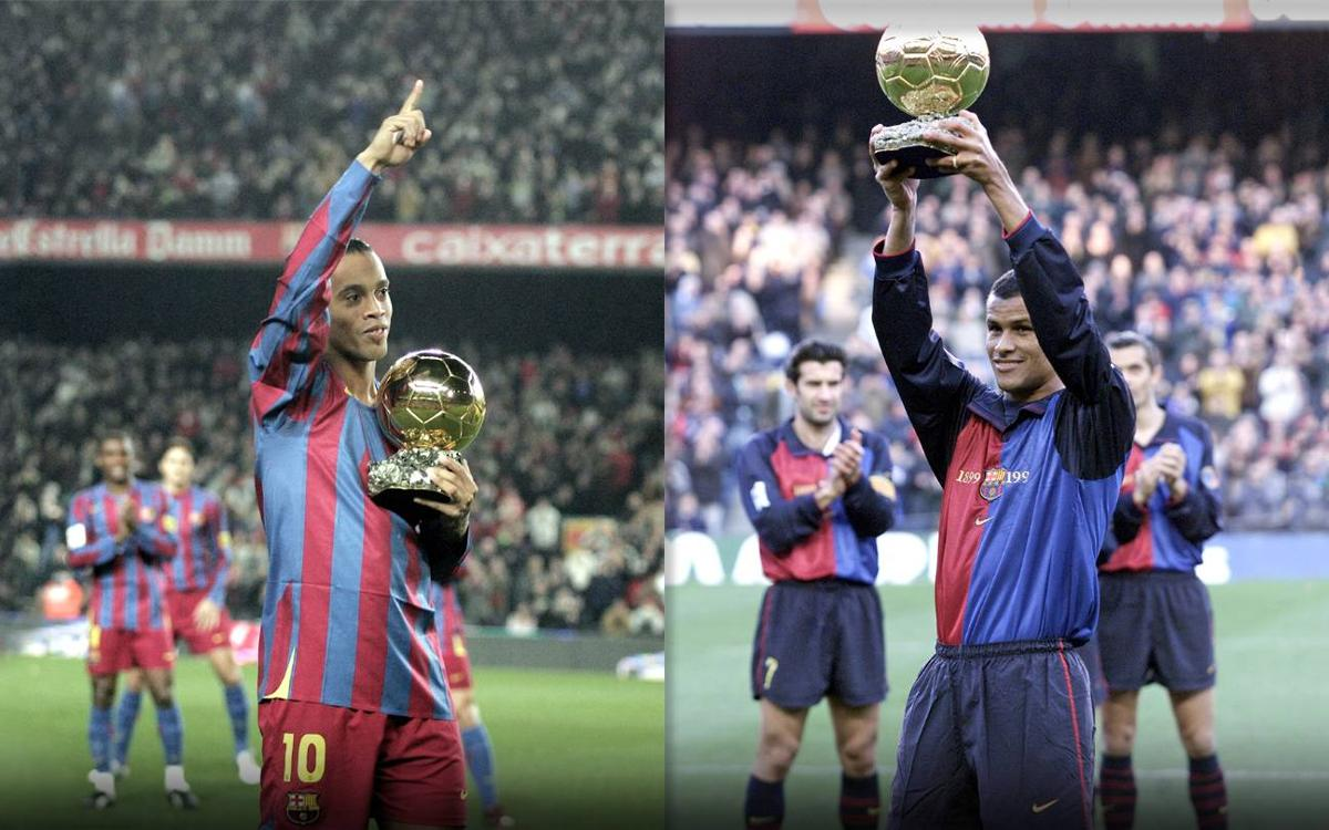 Two Ballon d'Or winners return to the Camp Nou