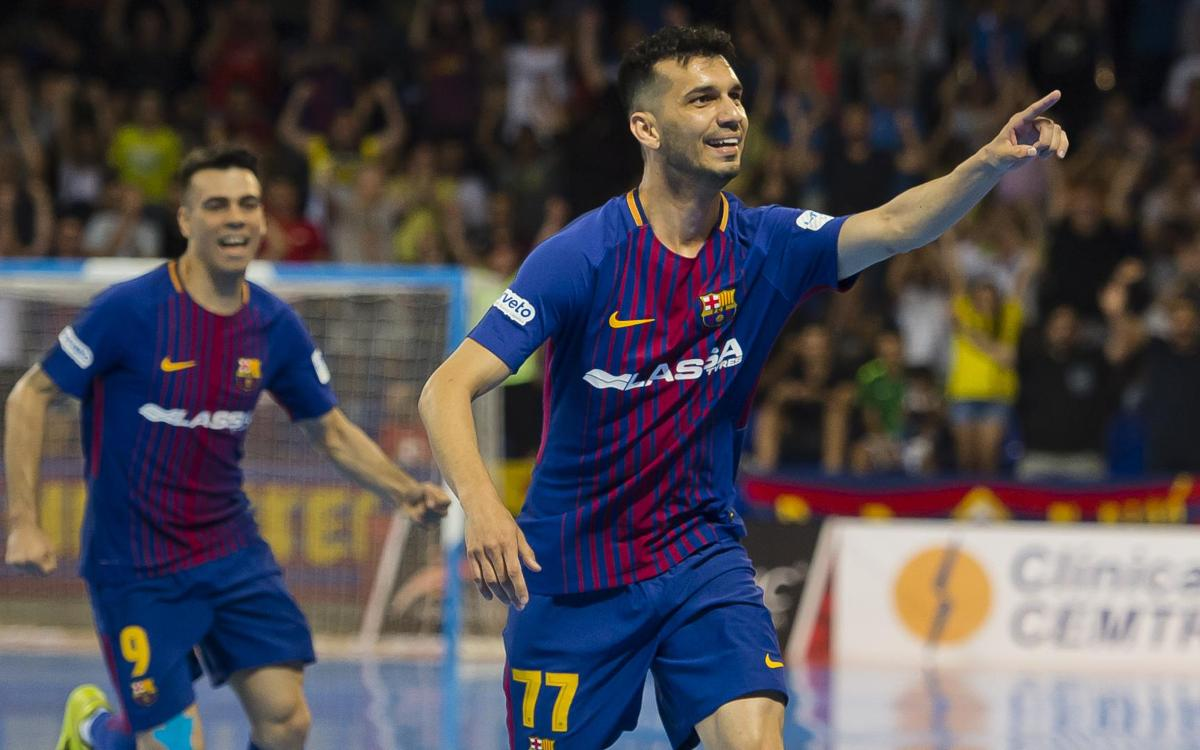 FC Barcelona Lassa - Movistar Inter: El Palau mantiene viva la final (3-2)