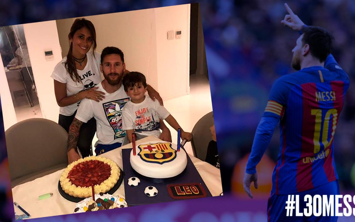 #L30Messi: The highlights of his 30th birthday