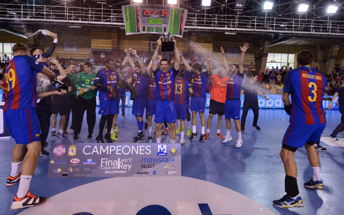 Naturhouse La Rioja – Barça Lassa: La Copa del Rei és blaugrana! (29-34)