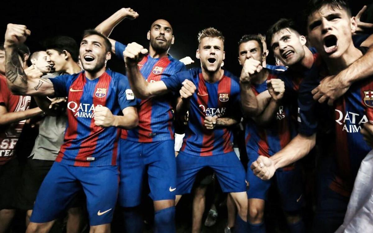 Barça B's sixth promotion to Division 2A