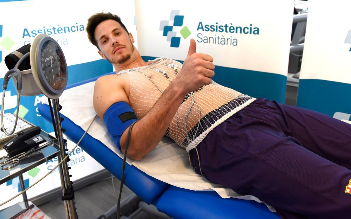 Vidéo - Thomas Heurtel passe avec succès la visite médicale du Barça