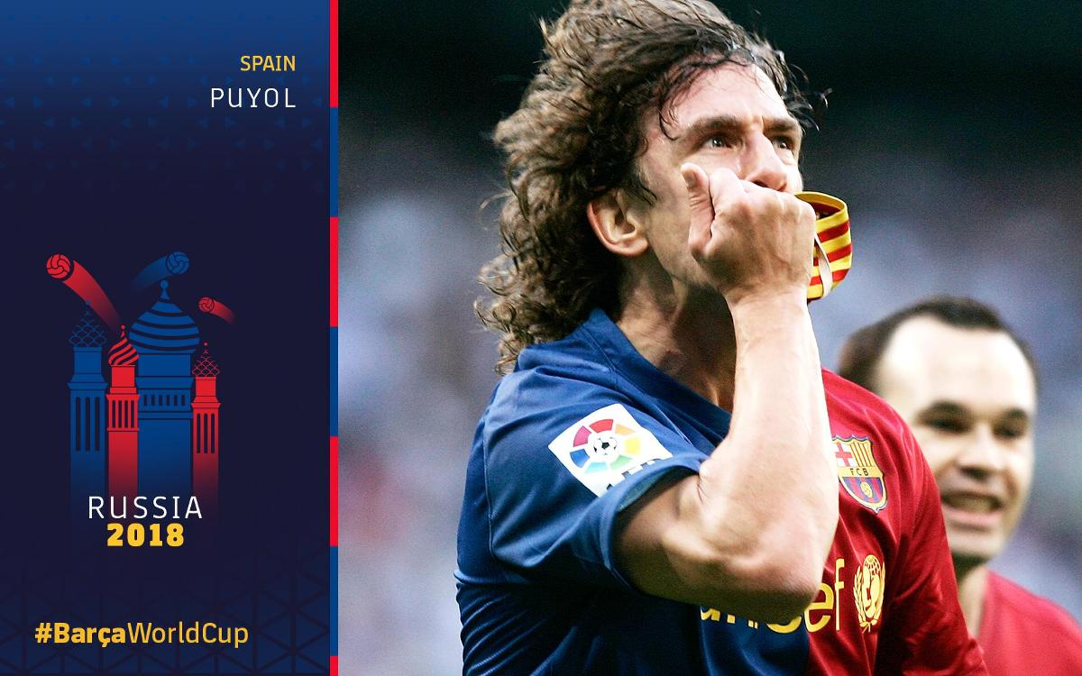 Barça at the World Cup, Part 5: Puyol's replica goal