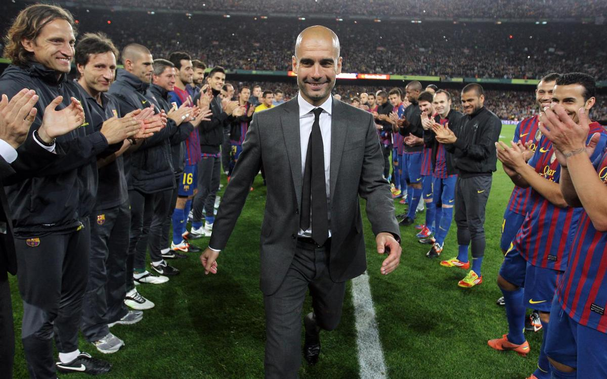 Tenth anniversary of Josep Guardiola's arrival as FC Barcelona's first team coach