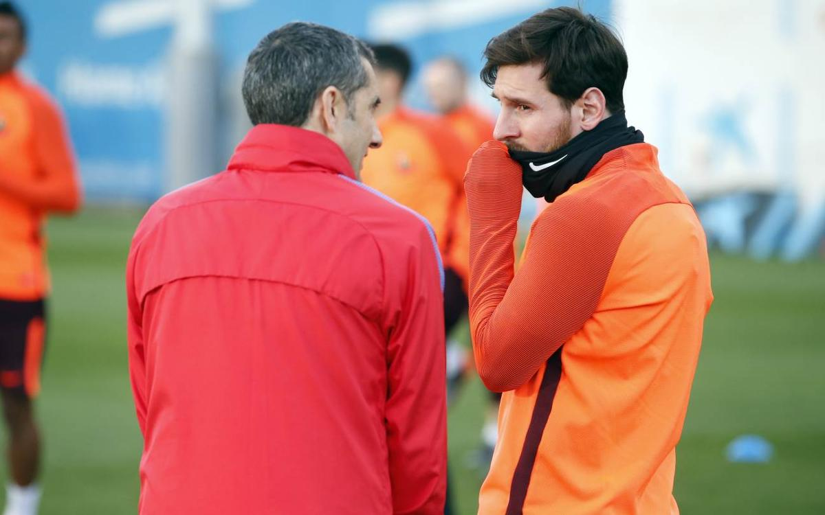 Messi: 'With Valverde I feel spectacular'