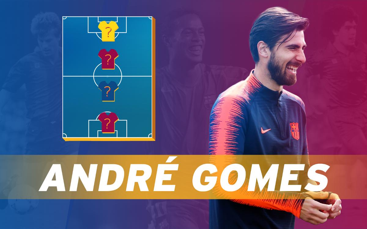 My Top 4: André Gomes picks his favourite players