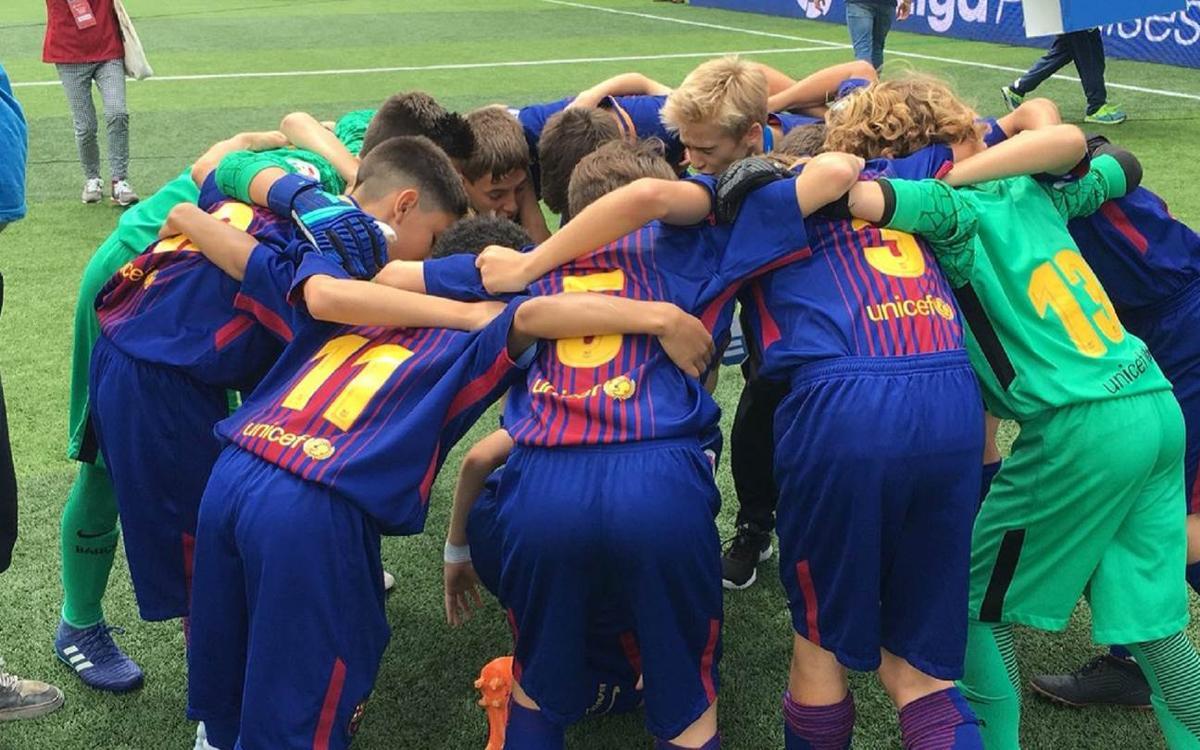 FC Barcelona U12A - Espanyol: Champions of La Liga Promises (1-0)
