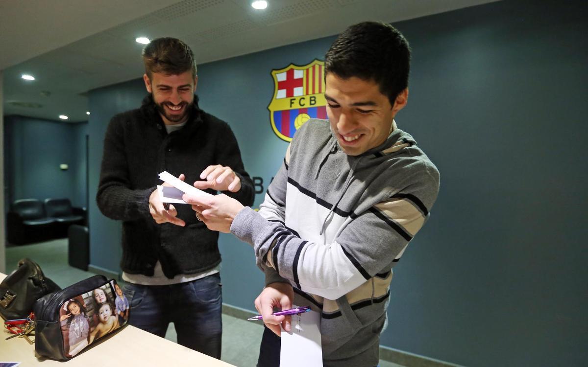 Piqué i Suárez seran centenaris amb la selecció